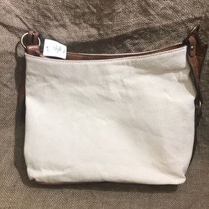 Cream Slouchy Bucket Style and Co Bag NEW WITH TAG
